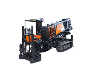 33 TON Horizontal Directional Drilling Machine Pipe Pulling With Auto Anchoring And Auto Loading